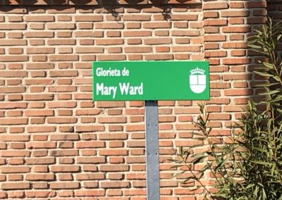 INAUGURACIÓN ROTONDA Mary Ward