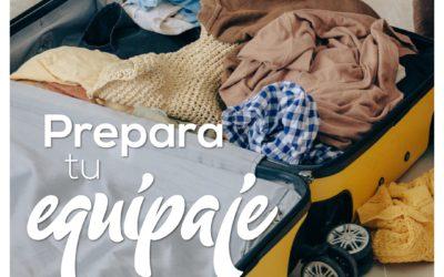 Prepara tu equipaje