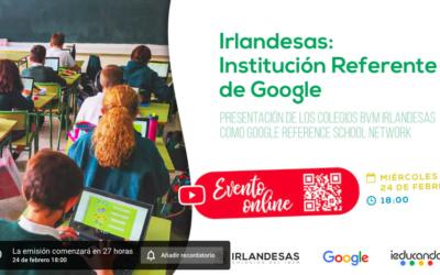 Evento online Colegios Irlandesas