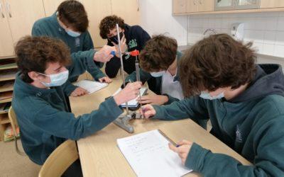 Prácticas en el laboratorio