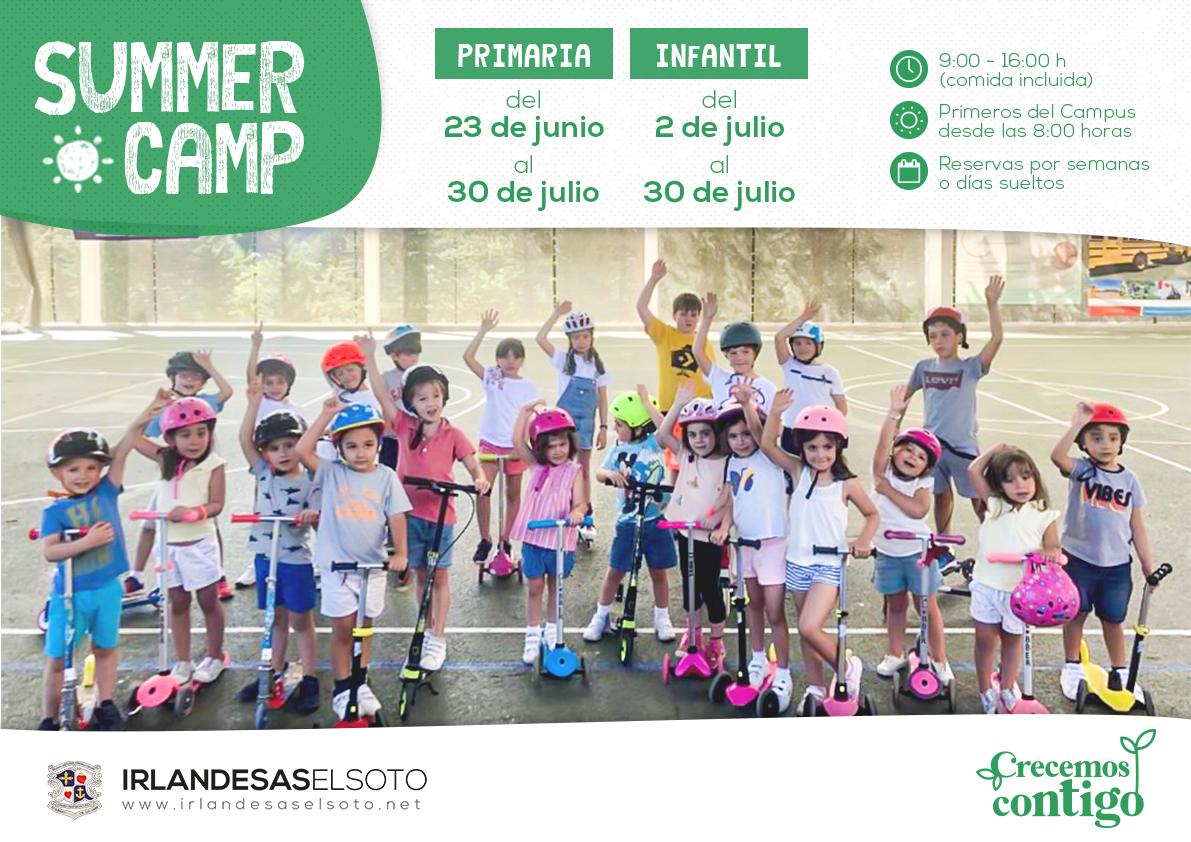 SUMMER CAMP 2021 Irlandesas El Soto